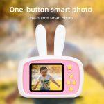 Цифровий дитячий фотоапарат XOKO KVR-010 Rabbit Рожевий