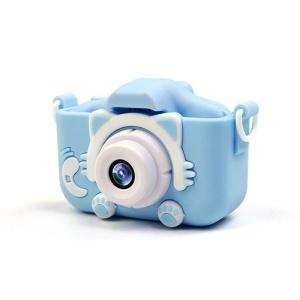 Силиконовый чехол и ремешок для цифрового детского фотоаппарата XOKO KVR-001 голубой