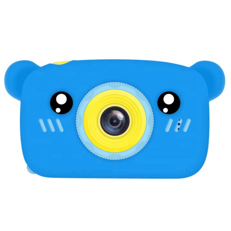 Цифровой детский фотоаппарат XOKO KVR-005 Bear Голубой