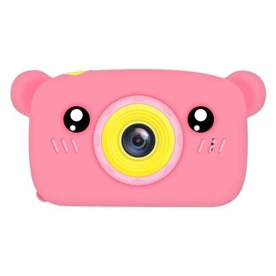 Цифровий дитячий фотоапарат XOKO KVR-005 Bear Рожевий