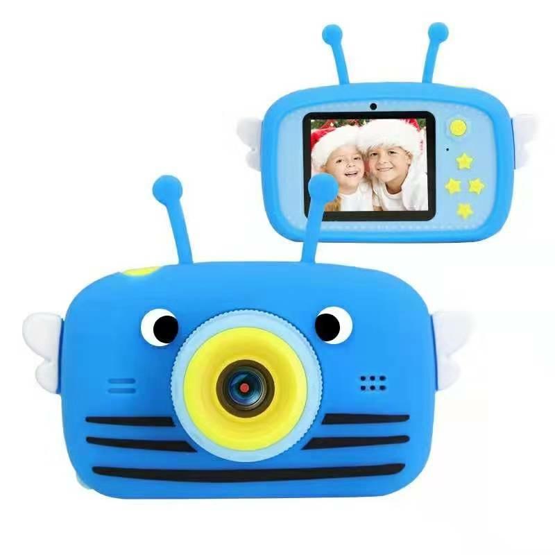 Цифровий дитячий фотоапарат XOKO KVR-100 Bee Dual Lens Блакитний