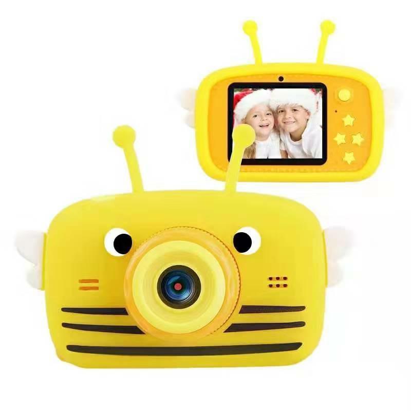 Цифровой детский фотоаппарат XOKO KVR-100 Bee Dual Lens Оранжевый