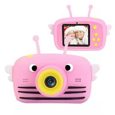 Цифровий дитячий фотоапарат XOKO KVR-100 Bee Dual Lens Рожевий