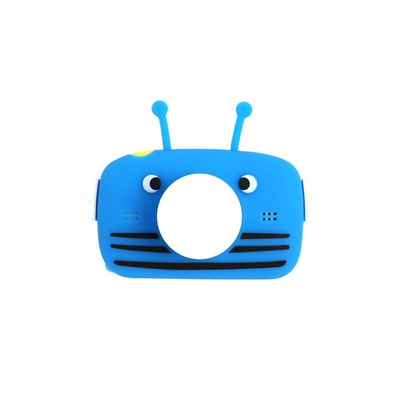 Силиконовый чехол для цифрового детского фотоаппарата XOKO KVR-005/010/100 Синий Bee Dual Lens