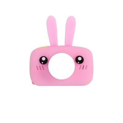 Силіконовий чохол для цифрового дитячого фотоапарата XOKO KVR-005/010/100 Rabbit Рожевий