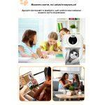 Цифровий дитячий фотоапарат-принтер XOKO KVR -1000 Блакитний