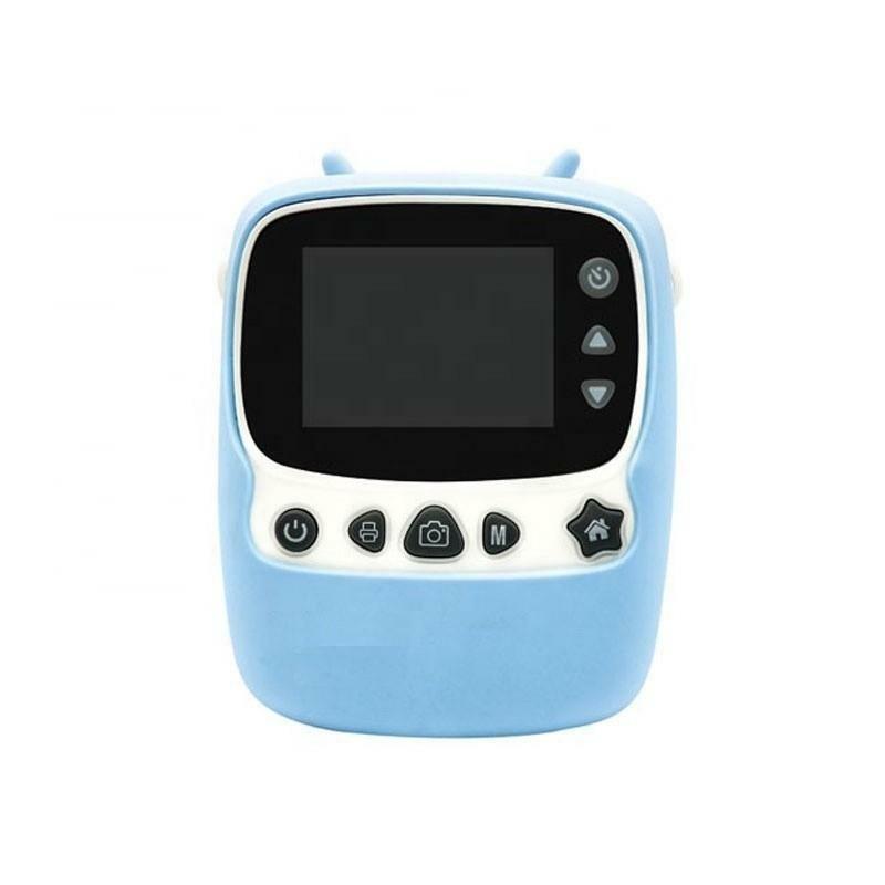 Цифровой детский фотоаппарат-принтер XOKO KVR-1000 Голубой
