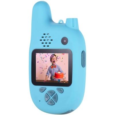 Цифровий дитячий фотоапарат XOKO KVR-500 Walkie Talkie Рація і Дві камери Блакитний (KVR-500-BL)
