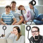 Набор блогера XOKO BS-100 + микрофон + пульт ДУ,LED 9 см