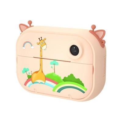 Цифровий дитячий фотоапарат-принтер XOKO KVR-1500 Помаранчевий Жираф