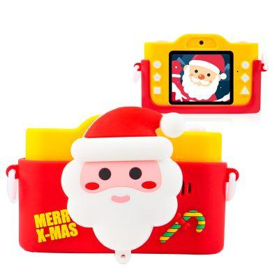 Цифровой детский фотоаппарат XOKO KVR-200 Christmas Limited Edition Dual Lens Red/Yellow