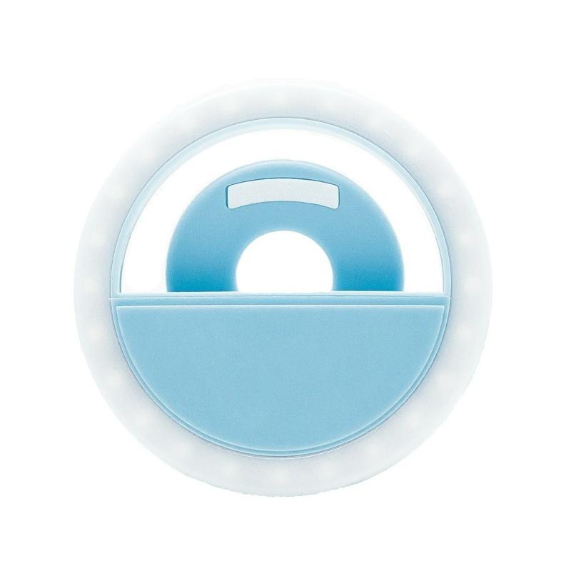 Селфі-кільце XOKO BS-005U Blue, LED 8,5 см