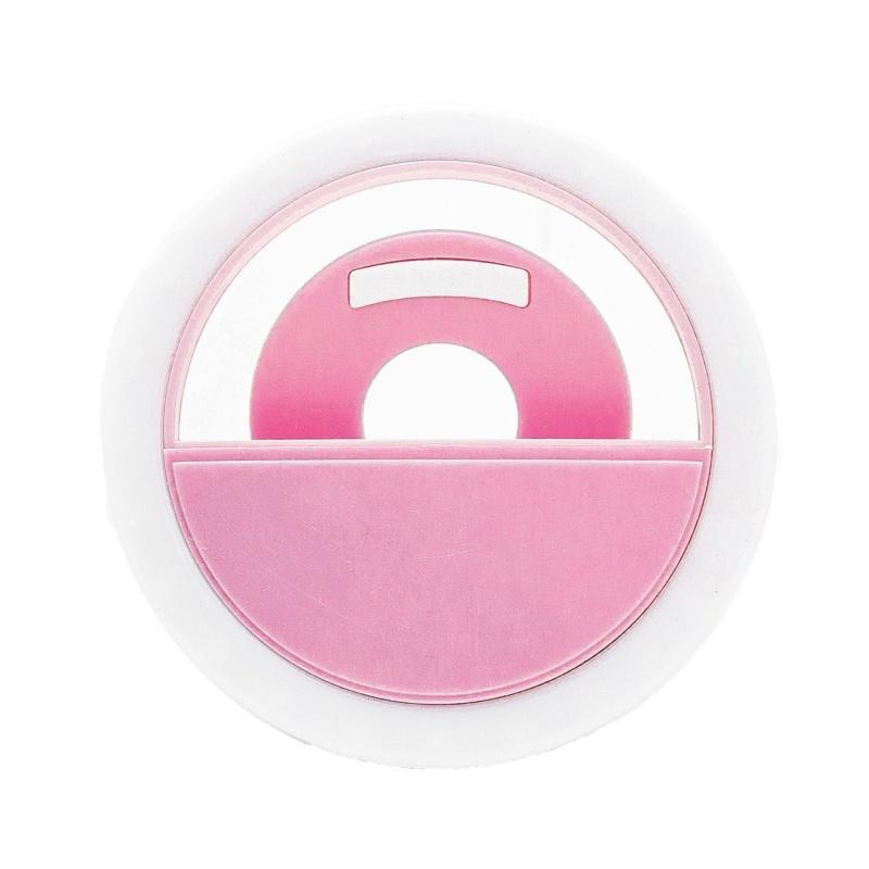Селфи-кольцо XOKO BS-005U Pink, LED 8,5 см