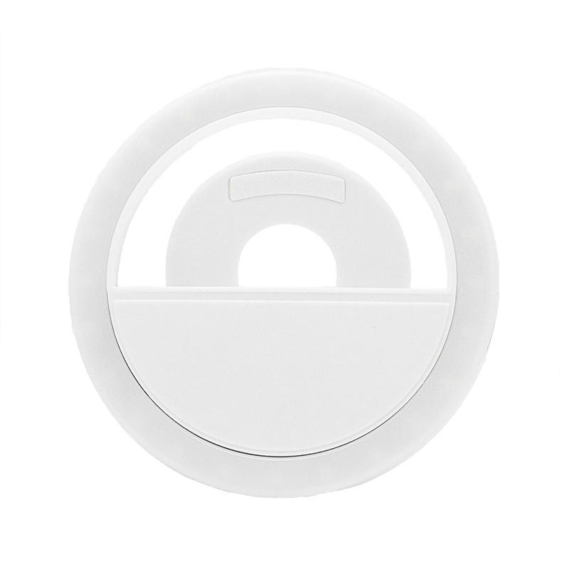 Селфі-кільце XOKO BS-005U White, LED 8,5 см