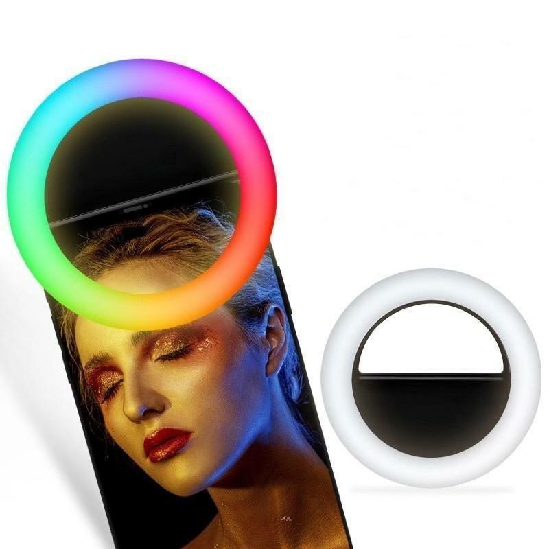 RGB Селфі кільце XOKO BS-007U Black RGB LED 9см