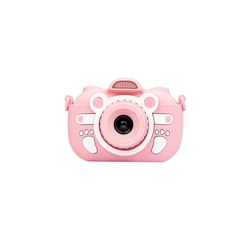 Цифровий дитячий фотоапарат XOKO KVR-300 з сенсорним дісплеєм рожевий (KVR-300-PN)