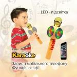 Бездротовий Караоке-Мікрофон Optima Wster MK-2 Gold