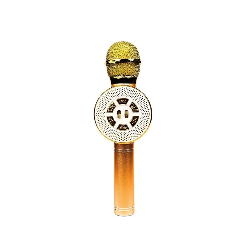 Беспроводной Караоке-Микрофон Optima Wster MK-4 Gold