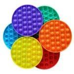 Іграшка антистрес Sibelly Pop It Mono Circle Yellow