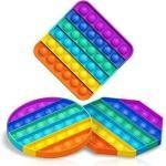 Іграшка антистрес Sibelly Pop It Rainbow Square
