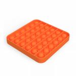 Іграшка антистрес Sibelly Pop It Mono Square Orange