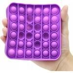 Іграшка антистрес Sibelly Pop It Mono Square Violet