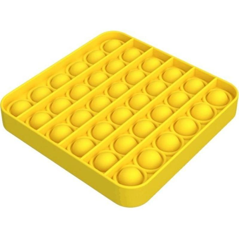 Іграшка антистрес Sibelly Pop It Mono Square Yellow