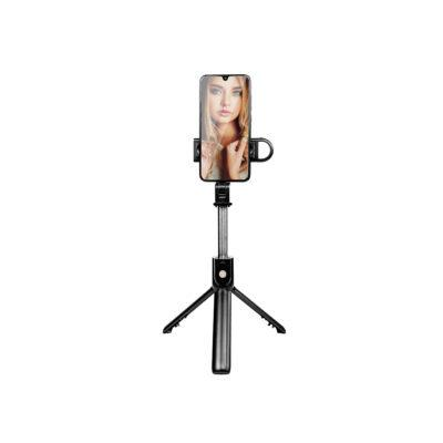 Трипод XOKO K10-s LED Selfie Stick Tripod Bluetooth Black
