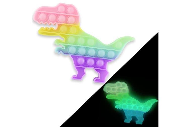 Іграшка антистрес Sibelly Pop It Dino Glow in Dark