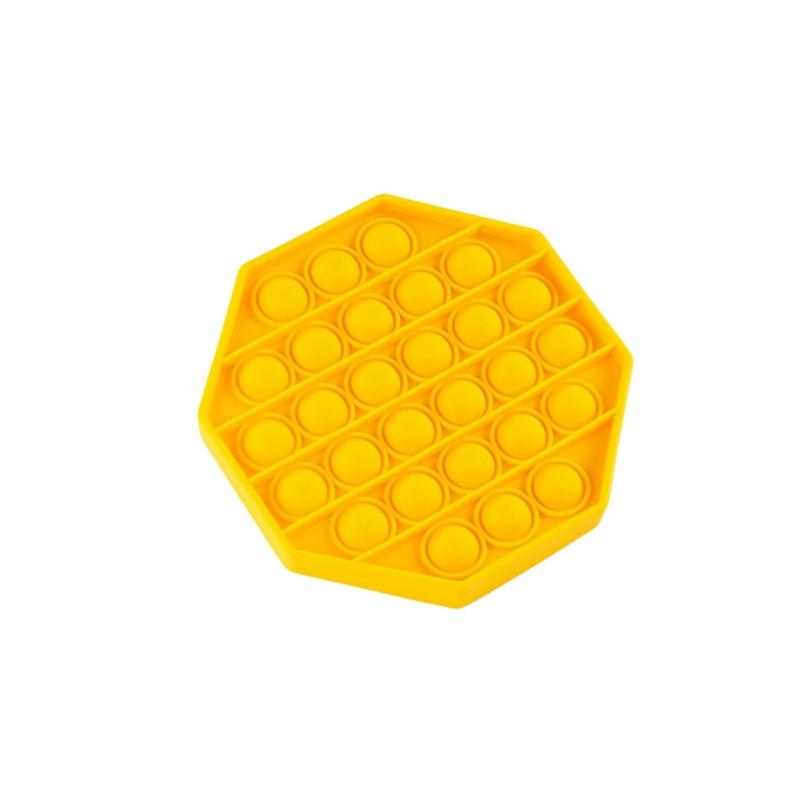 Игрушка антистресс Sibelly Pop It Mono Octagon Violet