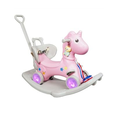 Лошадка качалка - каталка XOKO Play Pen RHO2  5 в 1 Pink (RHO2-PN)