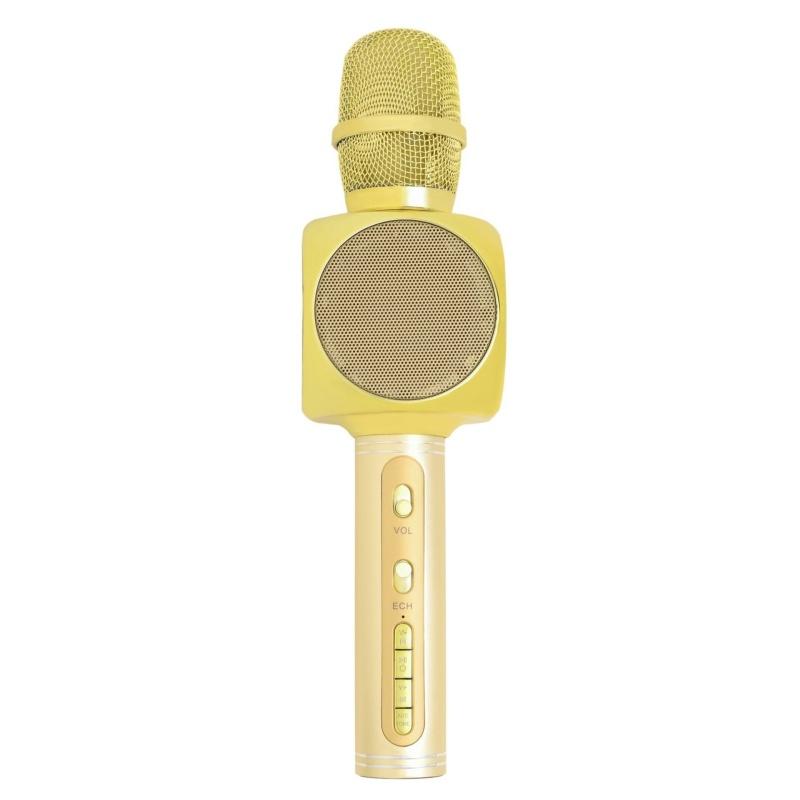 Беспроводной Караоке-Микрофон Optima MK-8 Gold