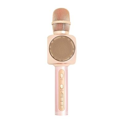 Беспроводной Караоке-Микрофон Optima MK-8 Rose Gold